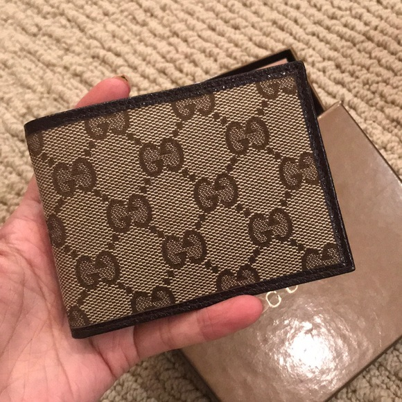c120f0a51dae49 Gucci Bags | Brand New Authentic Slim Bifold Mens Wallet | Poshmark